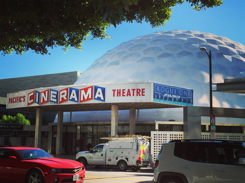 Cinerama Dome - Hollywood, CA