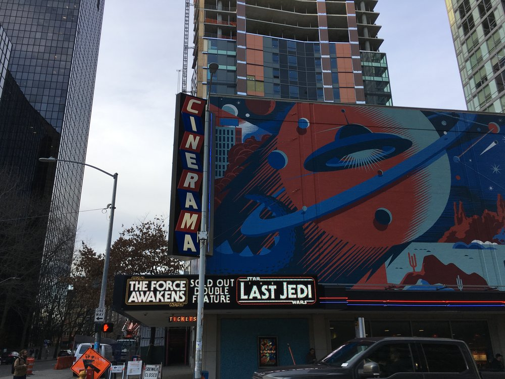 Cinerama - Seattle, WA - Photo Credit: Amy Sjoberg