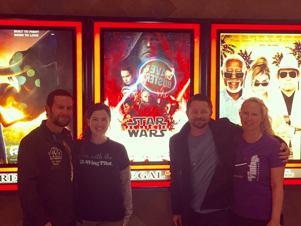 The Last Jedi  first post-screening daze at the Opry Mills Regal Cinema