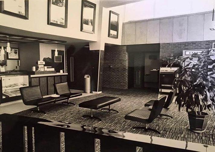 Cheri Theatres Lobby - ca. 1960s