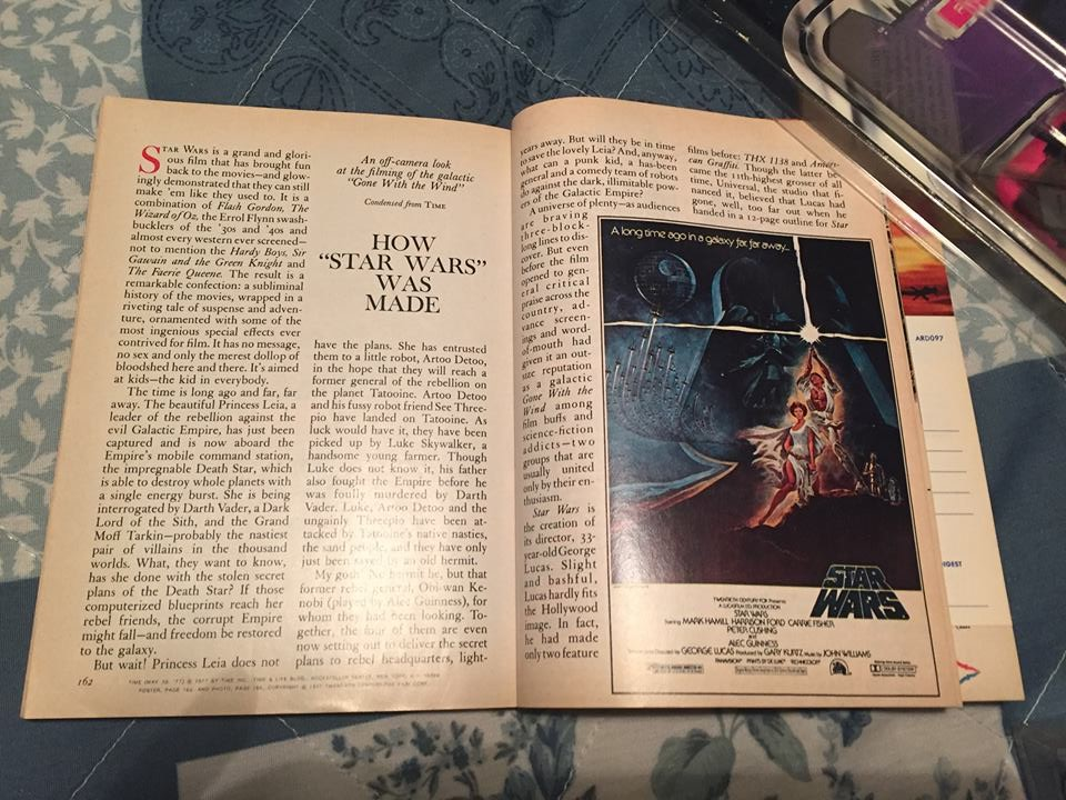 "Reader's Digest  ""How  Star Wars  Was Made"" Feature Article (September, 1977)"