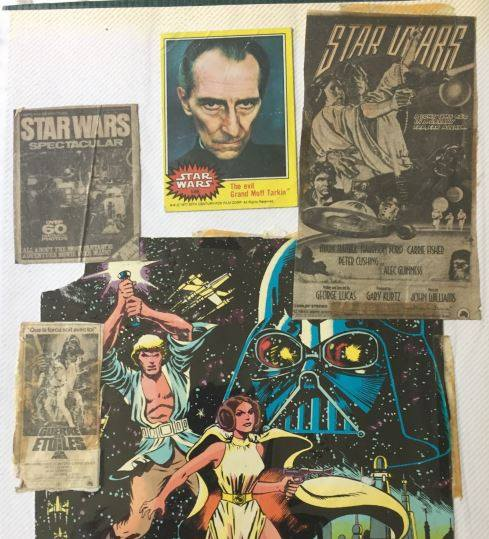 Zia Rezvi's  Star Wars  Scrapbook