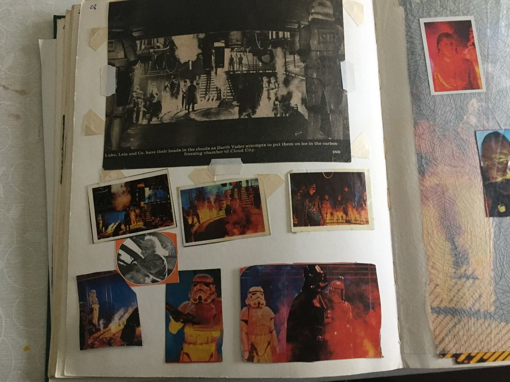 Zia Rezvi's  Empire Strikes Back  Scrapbook