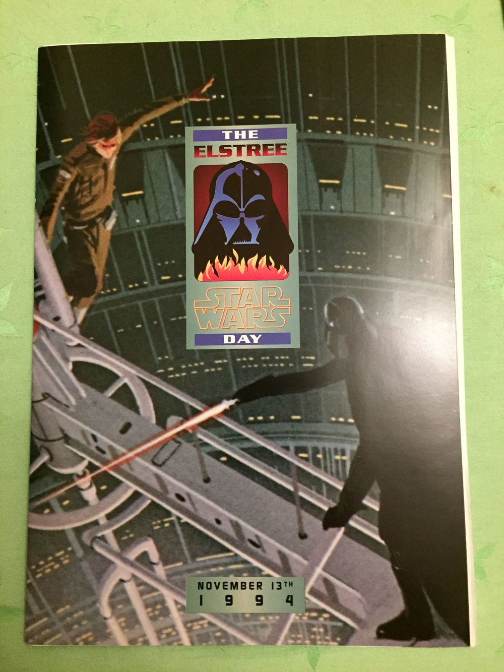The Elstree Star Wars Day Program (November 13th, 1994) - From the Collection of Zia Rezvi
