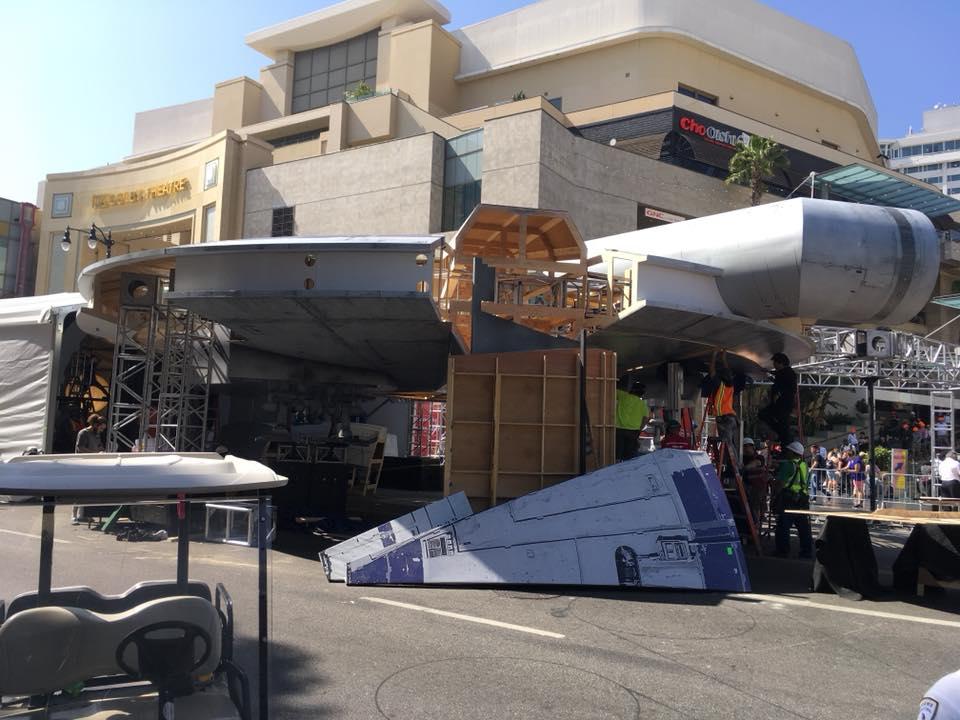 World Premiere Setup at the El Capitan Theatre - Hollywood, CA - Photo Credit: Tony van Dam