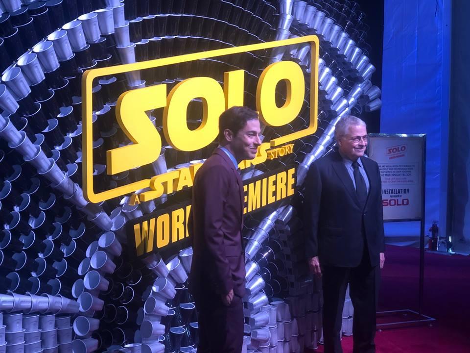 Jon and Lawrence Kasdan at World Premiere - Hollywood, CA - Photo Credit: Brennan Swain