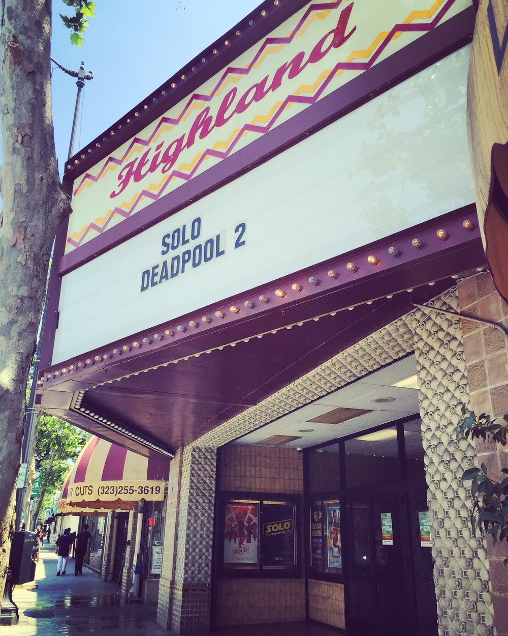 Highland Theatre - Highland Park, CA