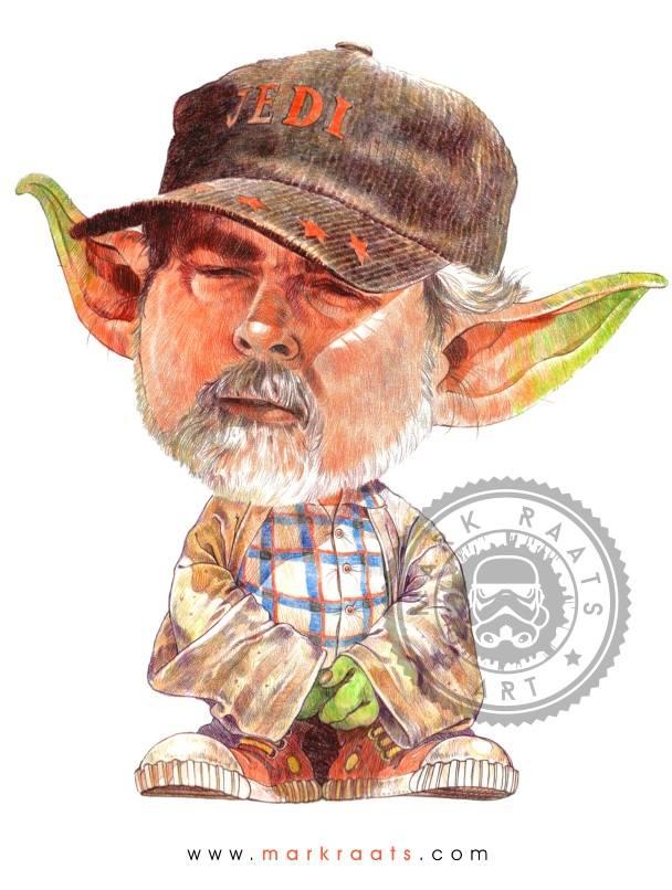 George Lucas - Image courtesy of Mark Raats