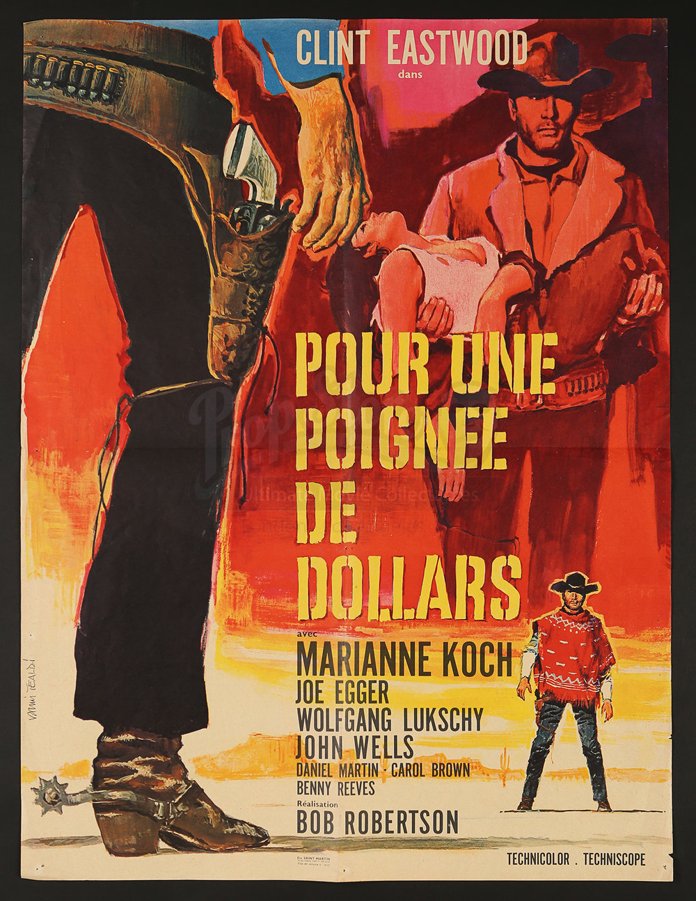 A Fistfull of Dollars  French Poster - via PropStore