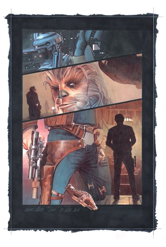 Solo  Comic Panel Concept - Image courtesy of Mark Raats