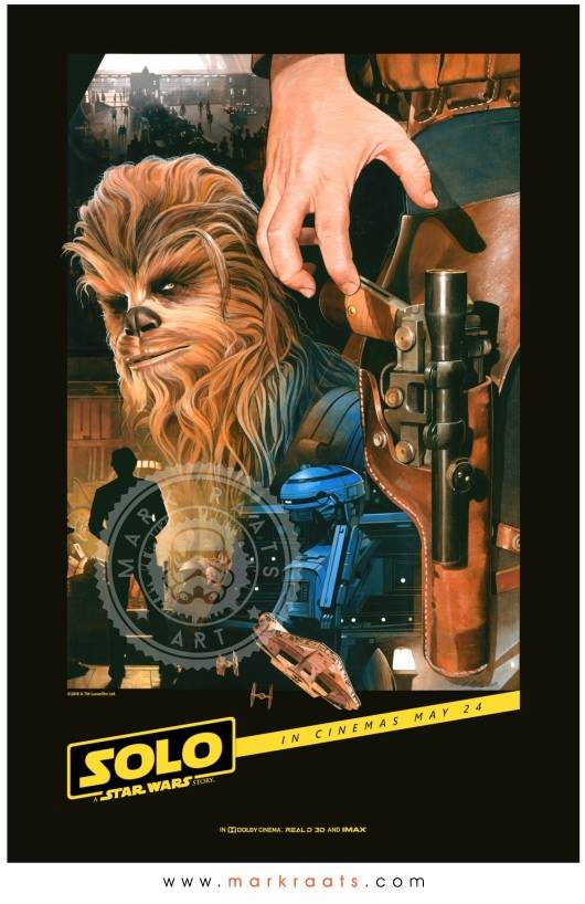 Solo  Final Poster - Image courtesy of Mark Raats