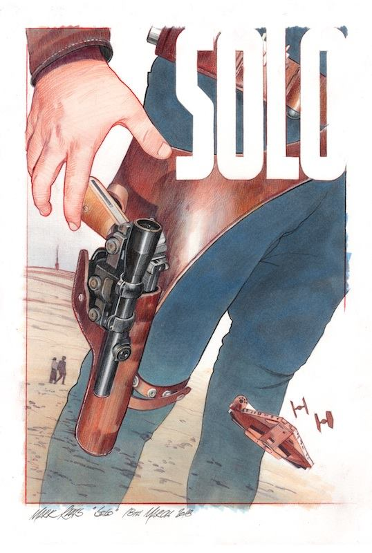 """Clint Eastwood""  Solo  Concept - Image courtesy of Mark Raats"