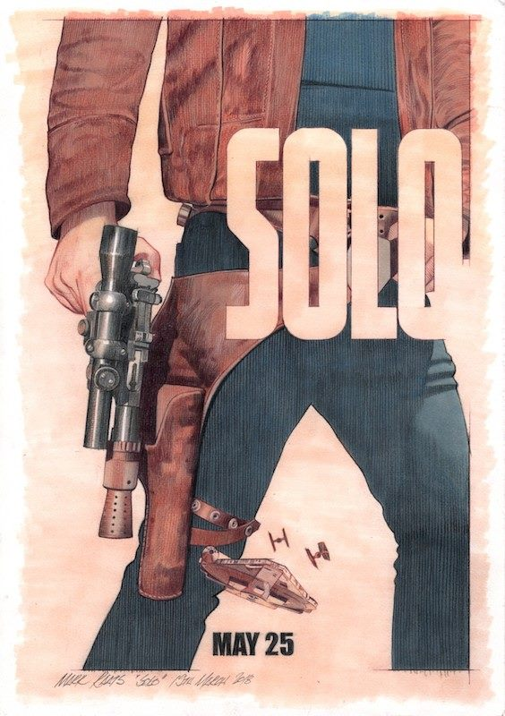 Early  Solo  Concept - Image courtesy of Mark Raats
