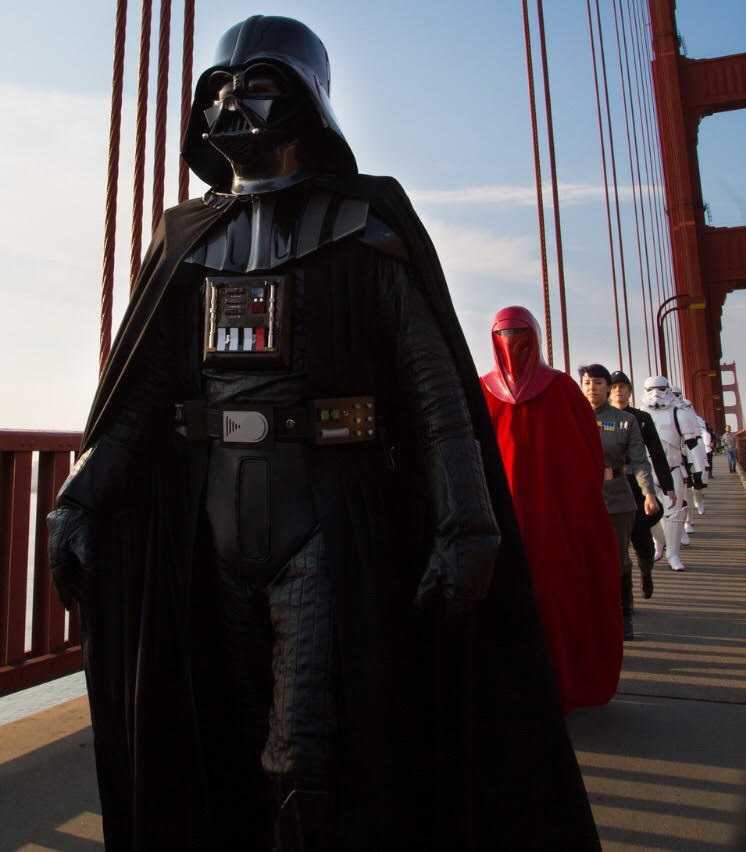 Dwayne Smith as Darth Vader, Golden Gate Garrison of the 501st Legion