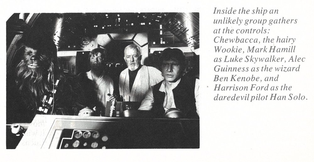 """Early misnomers such as the commonly misspelled """"Wookie"""" and the wizard """"Ben Kenobe."""""""