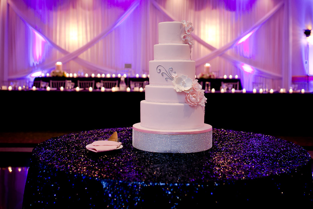 This was my wedding cake back in 2014...while it is still personally my favorite (insert bias here) people are trending away from this look. Photo cred: Jazi Photo