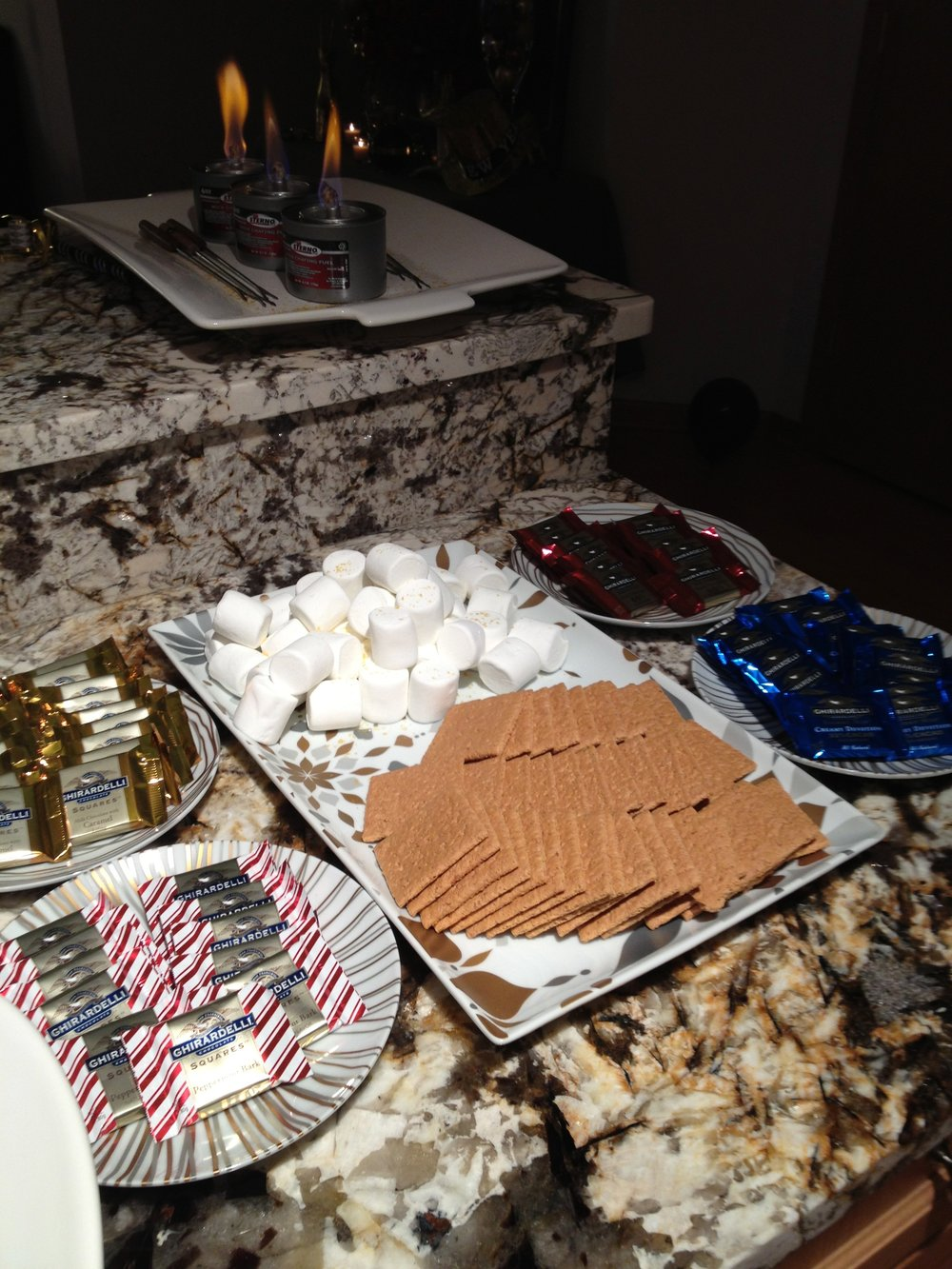 Private Residence: S'mores Bar