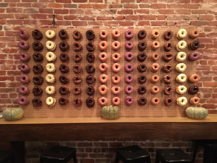Walls like this can easily be created, but this is from Johnny Doughnuts