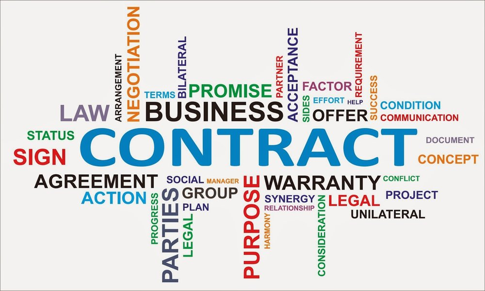 Contract is not a dirty word!