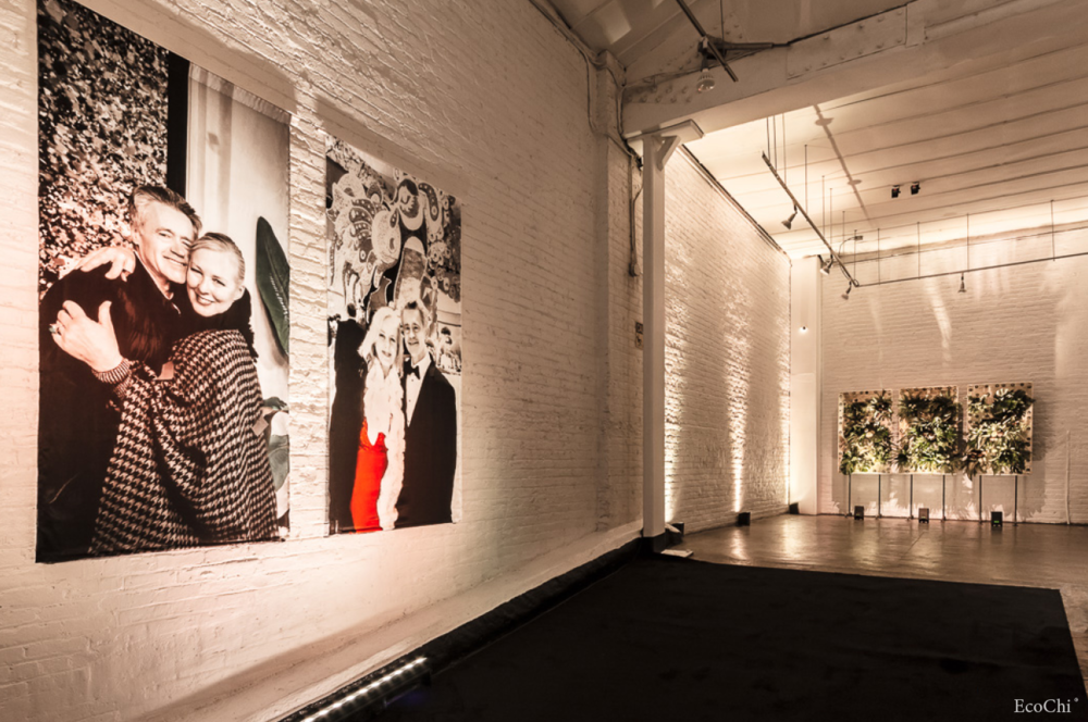 art gallery wall- ecochi certified event design