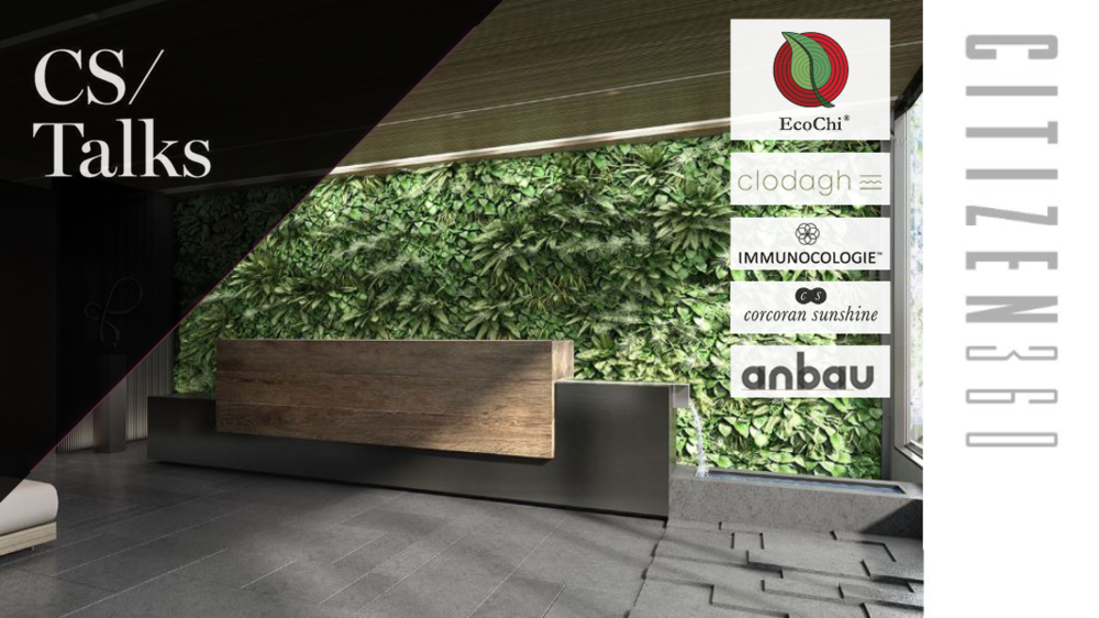 """Incorporating Health & Holistic Living into Every Aspect of Life"" - Speaker, EcoChi President, Debra Duneier- Tuesday, October 23rd, 2018 at 1:00pm-2:00pm- At Citizen360 condominium building located at 360 East 89th Street- Wellness panel hosted by Anbau real estate firm, during Corcoran Sunshine's annual Ted Talks-style event series. Also featuring Clodagh holistic design and Immunocologie sustainable skincare."