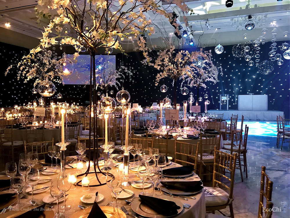 "GLOBAL WELLNESS SUMMIT EVENT DESIGN FOR GALA- ""A CELEBRATION OF THE ELEMENTS"""