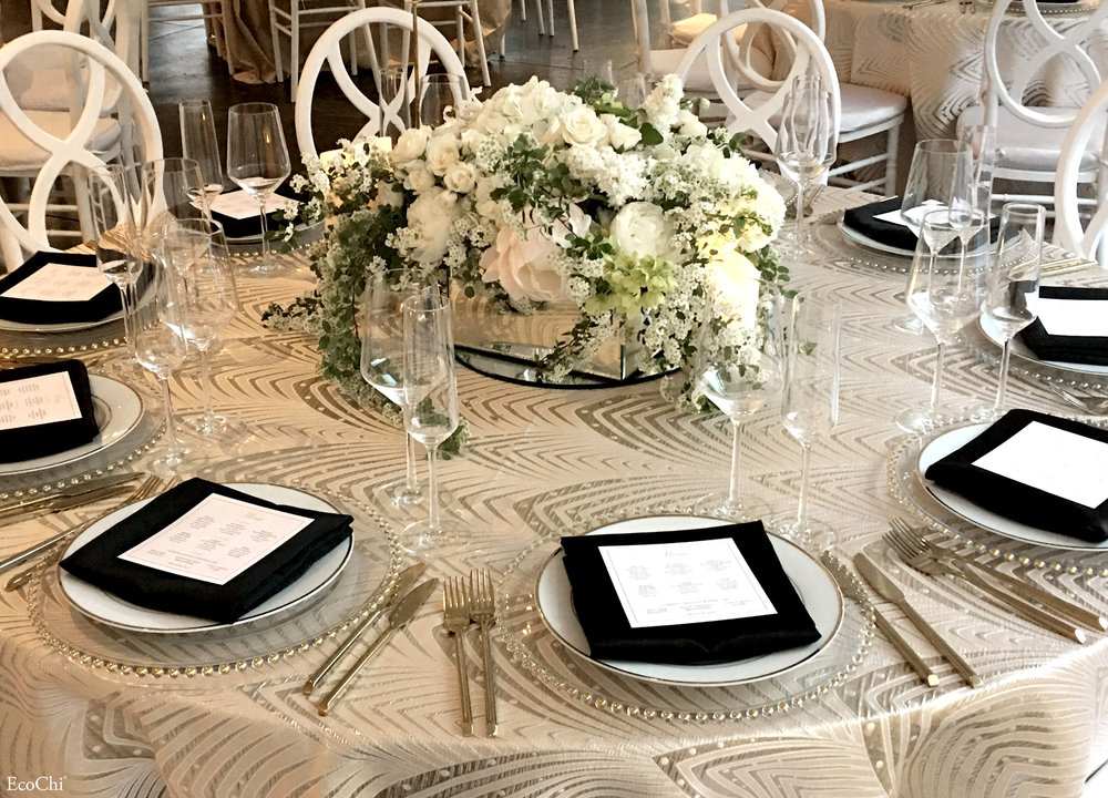WEDDING TABLE SETTING DESIGN- INDUSTRIA NYC