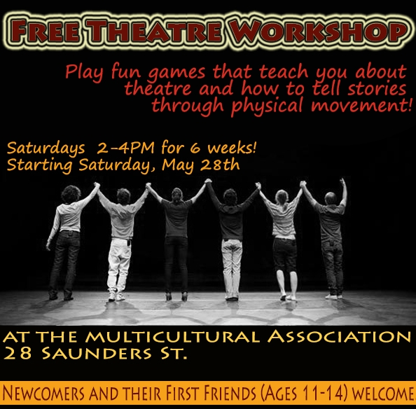 Syrian Newcomer Theatre Program Flyer - June 2016.jpg