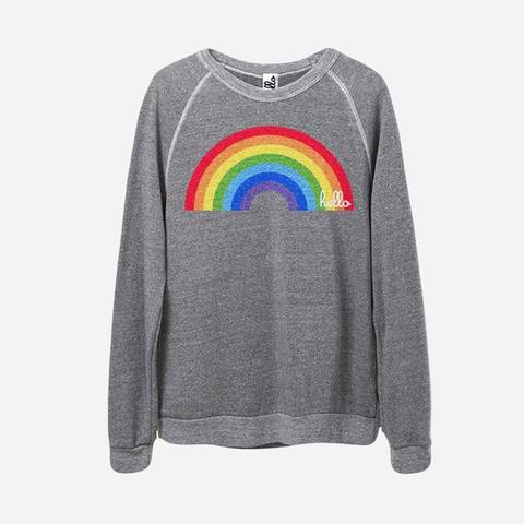 Hello Apparel Adult Pullover - Rainbow