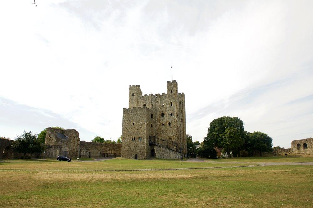 Rochester Castle - Cream - Rochester