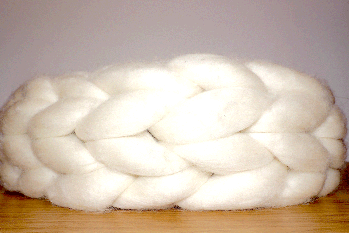Pearl - Chunky Wool Knit Scarf