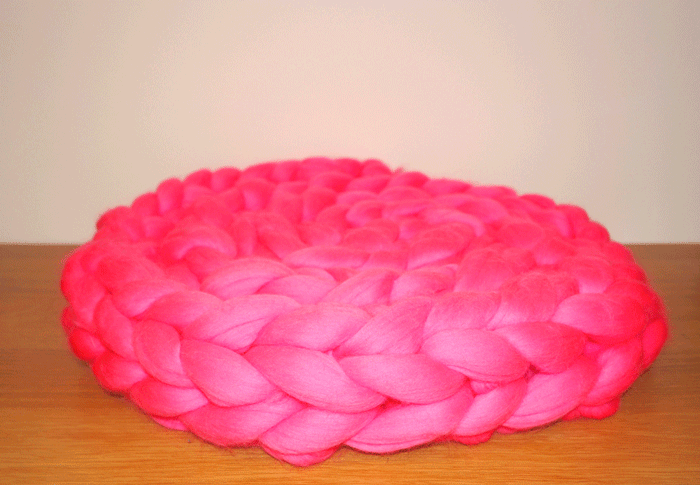 Barbie - Chunky Wool Knit Scarf
