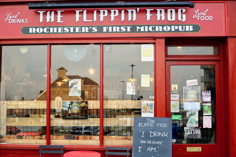 The Flippin Frog - Cream - Rochester