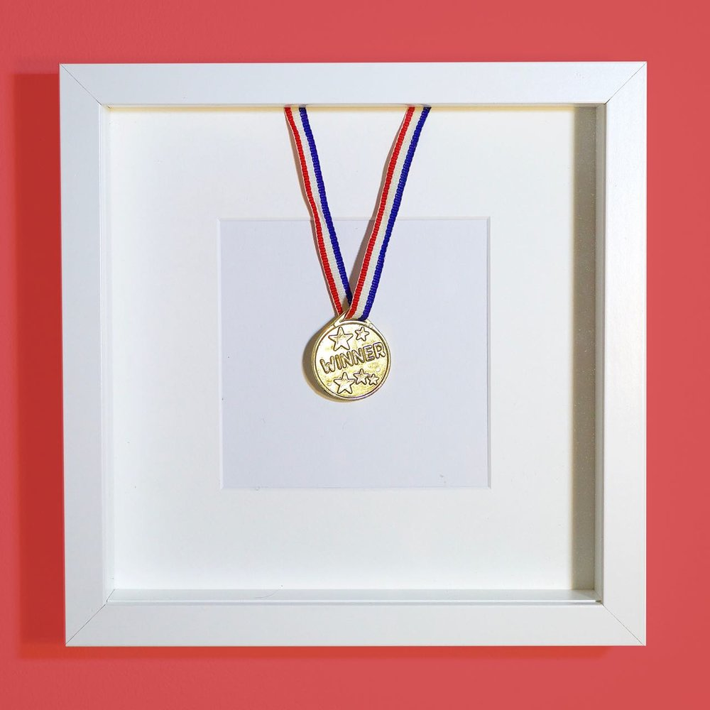 Glorious Ordinary - Winners medal