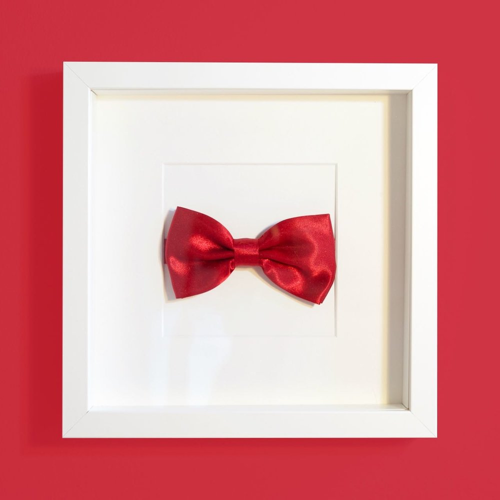 Glorious Ordinary - Red bow tie