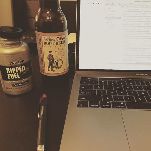 ... when tonight's chapter absitively posolutely has to be incoherent. #amwriting #bookv