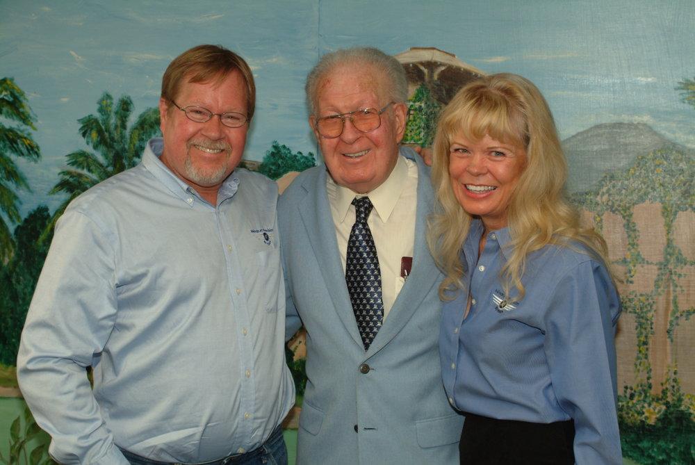 Dan, Paul and Diane Mindrum