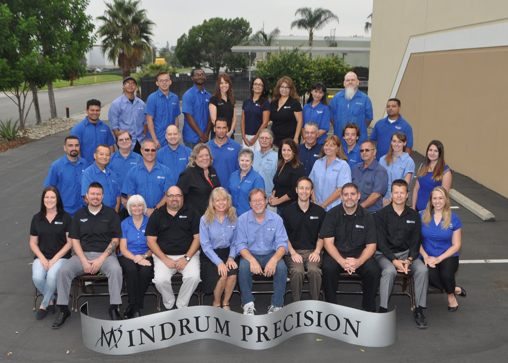 Mindrum Precision, Inc. Staff
