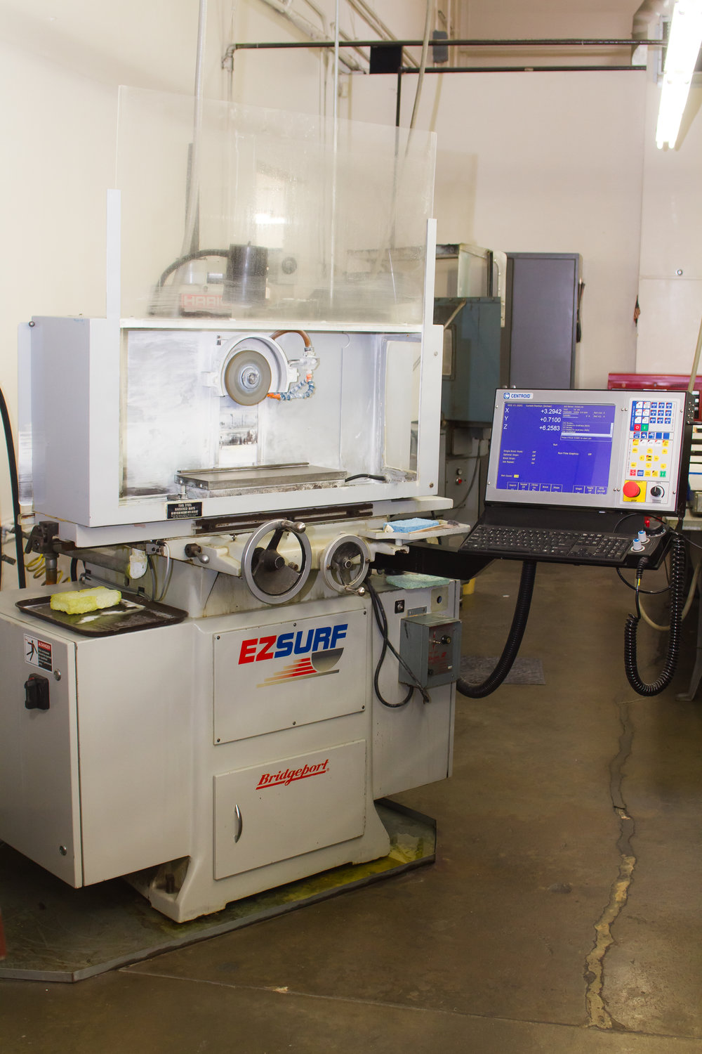Bridgeport EZSURF CNC Surface Grinder