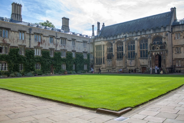 Exeter College Quad, University of Oxford. Photo by Simon Q via flickr