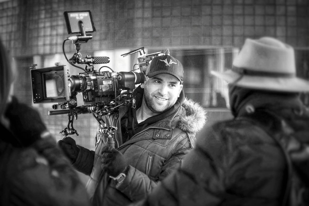 """Tiago Faria - Camera Operator It doesn't really matter what camera, this one can """"handle"""" anything."""