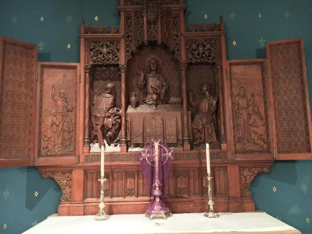 Peace Chapel triptych