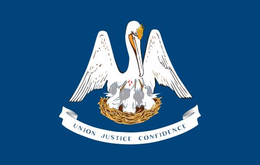 The Louisiana State Flag
