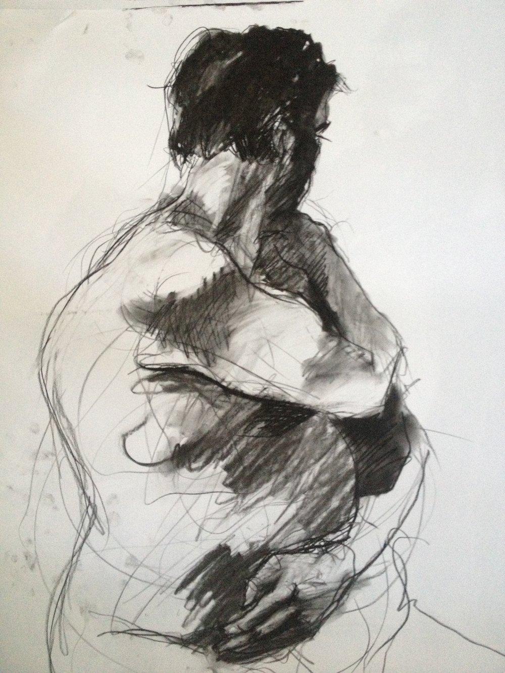 Study of Male Figure
