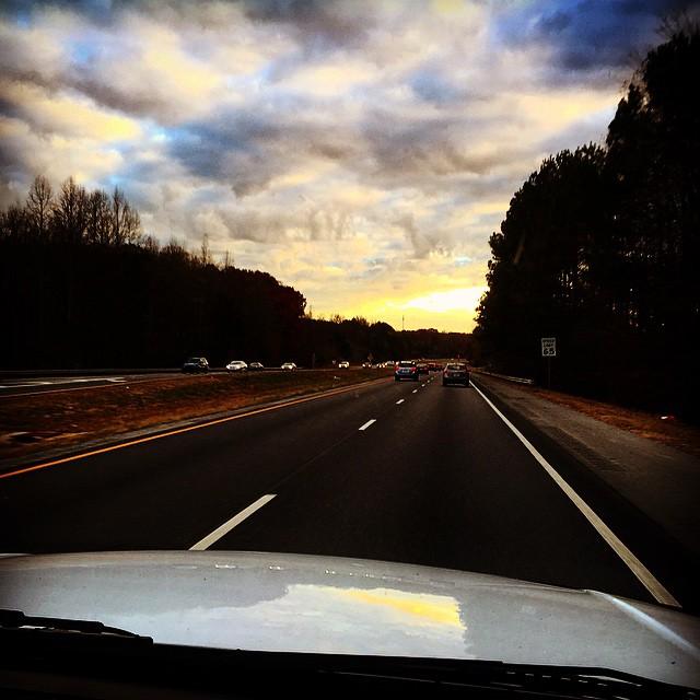 #Nashville bound for a writer's round tonight. #countrymusic #ontheroadagain #coalmountainband #cmb  @jaysat_cmb @shawnoneal1977 @ligon_cmb