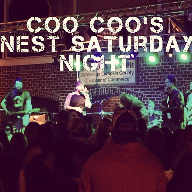 Coo Coo's Nest in Cumming, GA this Saturday night! Show starts at 9pm! #coalmountainband #cmb #countrymusic #georgia  https://www.facebook.com/events/366021203567825/ @jaysat_cmb @shawnoneal1977 @ligon_cmb