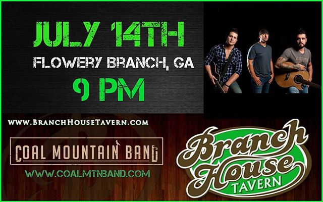 See all you guys in Flowery Branch, GA soon!