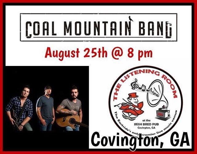 See all you guys in Covington, GA in August!! @irishbredpubcovington