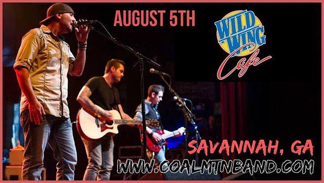 See you soon Savannah @earformusic @wildwingcafesav