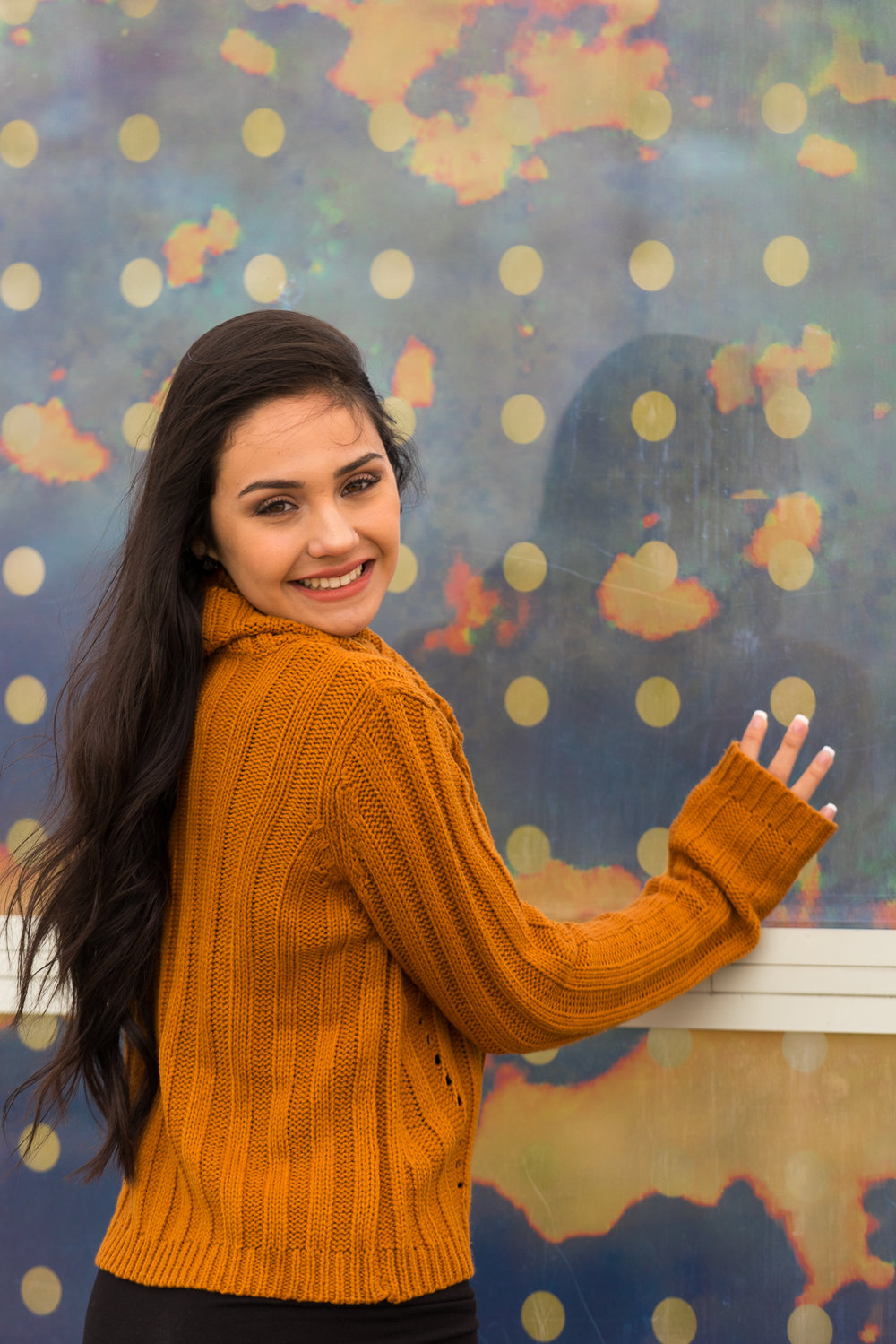 senior girl smiling-SF East Bay lifestyle photography